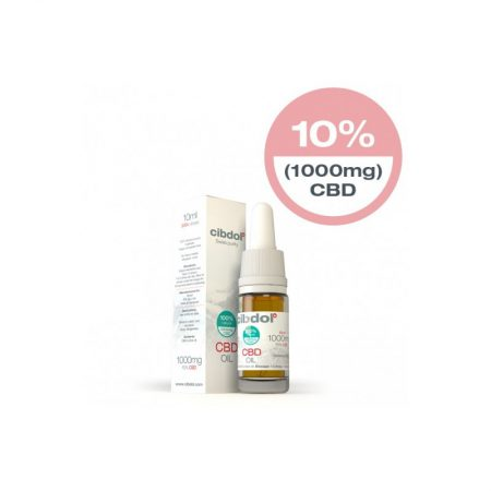 Cibdol CBD Oil 10% (10ml)